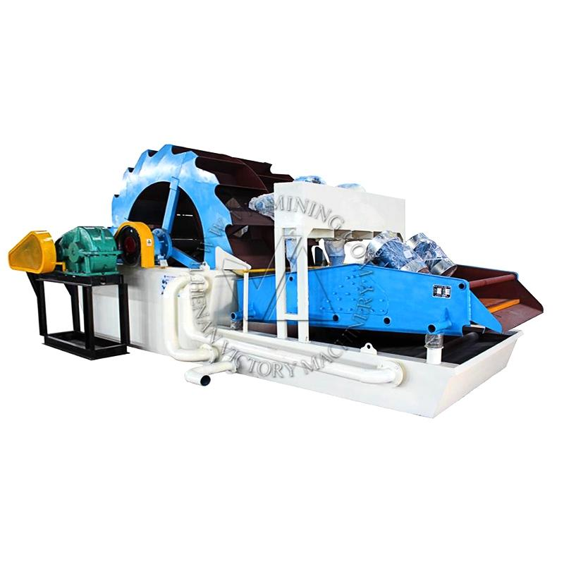 high efficiency sand washing machine aggregate washing and dewatering  3