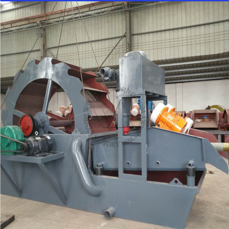 high efficiency sand washing machine aggregate washing and dewatering  5
