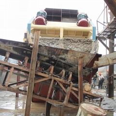 Good quality iron ore Wheel bucket sand washer manufacturer