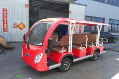 南京11人座電動觀光車
