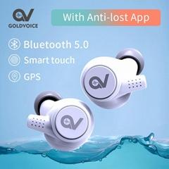 歌魅无线蓝牙耳机内置GPS私模亚马逊爆款