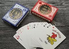 娛樂場進口黑芯紙撲克牌