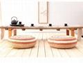 Thrilling Design Massaging Meditating Water Hyacinth Vietnam Braided Cushion For