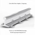 U71Mn GB standard crane steel rail track