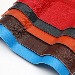 Factory Supply ASA Synthetic Spanish Resin Roof Tile
