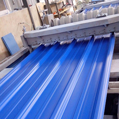 Light Weight PVC Corrugated Sheet ASA Plastic Roof Tiles For Warehouse
