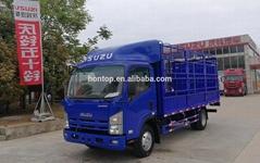 4X2 ISU-ZU Light Fence Cargo Truck Stake Vehicle for sale