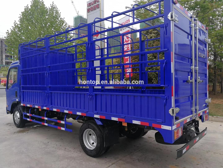 4X2 ISU-ZU Light Fence Cargo Truck Stake Vehicle for sale  2