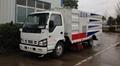 ISU-ZU 8CBM truck mounted vacuum road