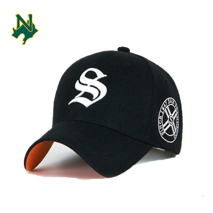 Promotional Baseball Cap Custom New Embroidered Red Baseball Era Cap 5