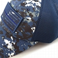 100% Cotton Military Hat Custom Embroidery Logo Blue Camo Hat USA Flag Patch Buc 2