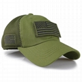 Custom camouflage mesh cap special tactical operator USA flag patch side embroid