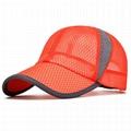 Wholesale solid color mesh baseball caps