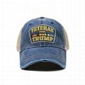 Hot Sale Veterans Trump Hat Distressed