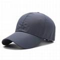 Fashion Quick Dry Baseball Hats Plain
