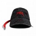Custom label vintage washed dad hat