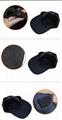 5 panel Folding long bill baseball cap Multi color sports mesh sports cap