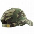 Classic organic Cotton Made Adjustable Cap Fits Camo Hat Unstructured Dad cap