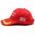 Custom MAGA Hat Donald Trump Slogan Baseball Cap USA Flag Cap Unisex