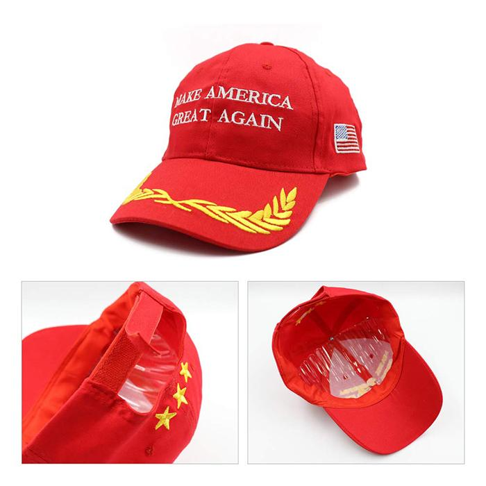 Custom MAGA Hat Donald Trump Slogan Baseball Cap USA Flag Cap Unisex  3