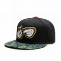 Custom Embroidered Snapback Hats New