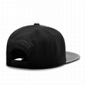 Manufacturer 5 Panel Hat Leather Flat Brim Infant Customized 3d Embroidery Hat