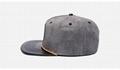 Custom New Leather Patch Logo Snapback Era Hats Rope Wholesale Blank
