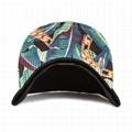 New Caps And Hats Era Caps Flat Camo Brim Gold 3d Embroidery Plain Snapback Hat