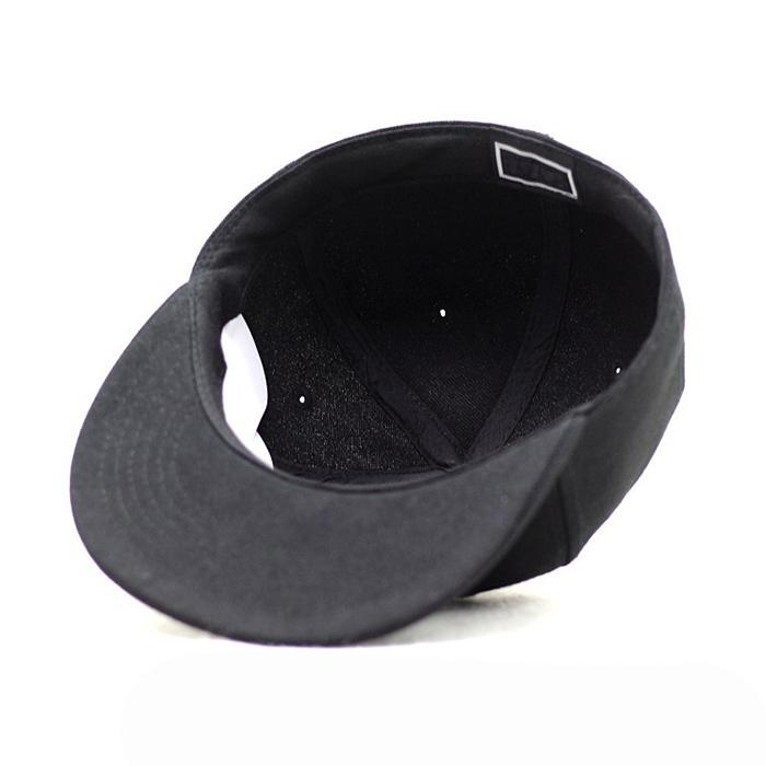 Custom logo baseball cap new color era sports cap Own design black snapback cap 3