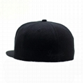Custom logo baseball cap new color era sports cap Own design black snapback cap
