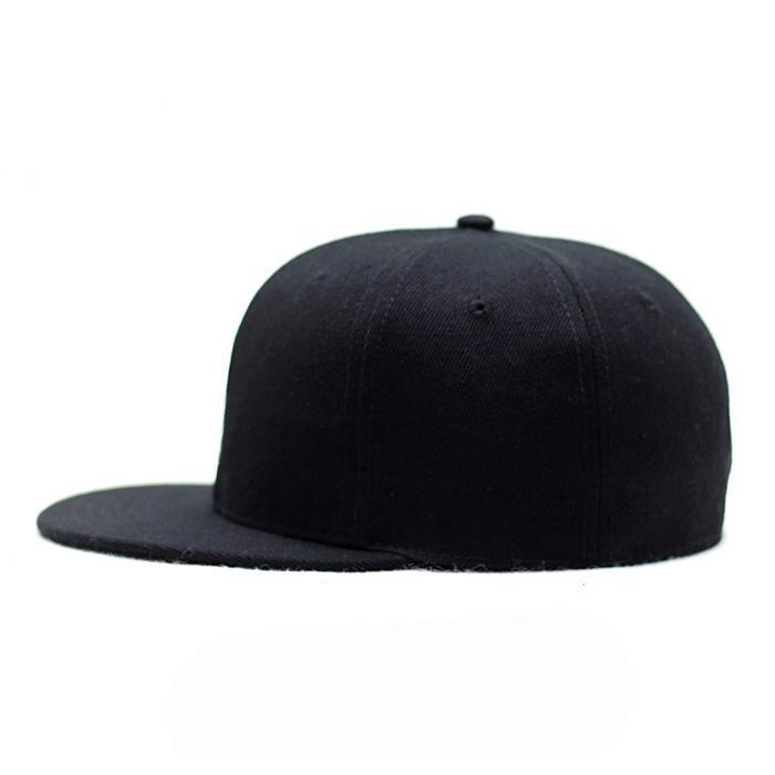Custom logo baseball cap new color era sports cap Own design black snapback cap 5