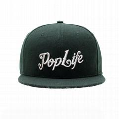 Custom logo baseball cap new color era sports cap Own design black snapback cap