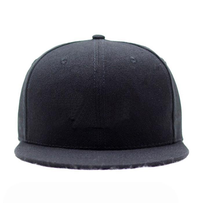 Custom logo baseball cap new color era sports cap Own design black snapback cap 6