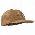 Corduroy Dad Hat Brown Unstructured Adjustable Plain Sport Trucker Hat Hand