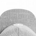 Foldable Trucker Embroidery Logo Leopard Brim Sublimation Printing Snapback Hats