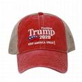 Wholesale Embroidery Trump 2020 Keep America Great Campaign Baseball Trucker Cap
