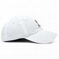 Wholesale Custom Embroidery Prayer Hands Hat Baseball Cap Rose Dad Hats White  3