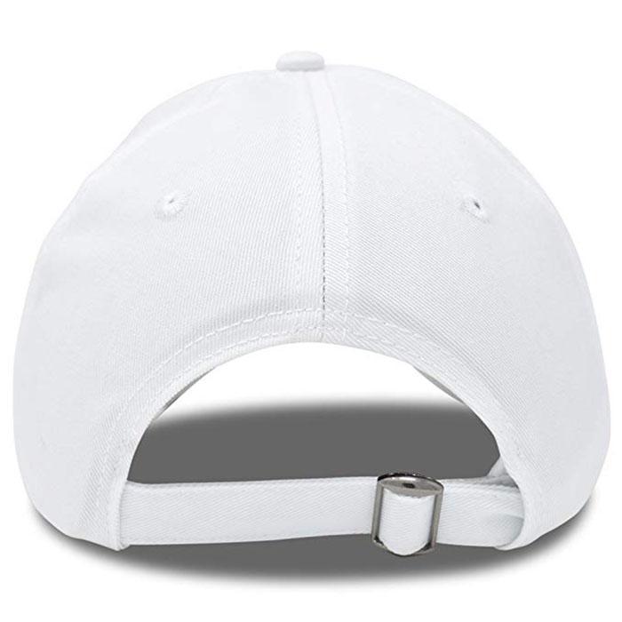 Wholesale Custom Embroidery Prayer Hands Hat Baseball Cap Rose Dad Hats White  6