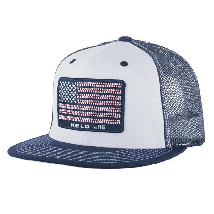 Custom GOLD THREAD trucker mesh caps snapback hat brim inserts plastic 4