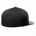 Custom GOLD THREAD trucker mesh caps snapback hat brim inserts plastic 3