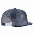 Custom GOLD THREAD trucker mesh caps snapback hat brim inserts plastic