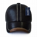 Wholesale leather caps cowhide baseball