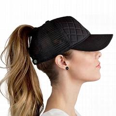 Custom patch ponytail ba