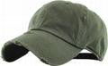 Distressed dad hats custom your own logo hip hop outdoor sports cap