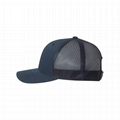 Wholesale 6 panel blank mesh trucker hat the classic snapback plain gorras