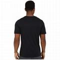 Custom Logo Mens Dry Fit 60 Cotton 40 Polyester Blank Running Sport Gym T Shirt
