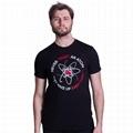 Latest shirt designs custom men vintage t-shirt funny science pattern