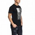 OEM Mens Summer Tshirt Triblend Fabric Streetwear Slim Fit Men Tshirt