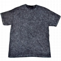 Wholesale china sport wear distressed t shirts mineral washed running tee shirts