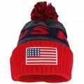 Custom Embroidery American Flag Logo